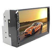 "Автомобильная 2 DIN магнитола HEVXM HE 888 сенсорный Full HD экран 7"" MP5 FM radio USB AUX microSD, фото 3"