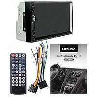 "Автомобильная 2 DIN магнитола HEVXM HE 888 сенсорный Full HD экран 7"" MP5 FM radio USB AUX microSD, фото 7"