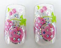 Ногти накладные в пакете, 20 шт с рисунком вишенки и клейкой основой