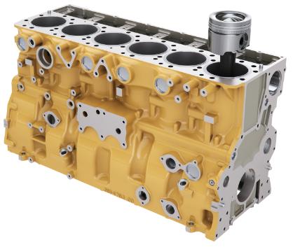 209-5566 Блок цилиндров двигателя Caterpillar 3056 (2095566)