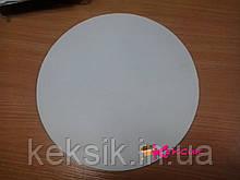 Подложка для торта белая ламинированная 30 см тонкая