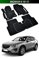 Коврики Mazda CX-5 '12-17. Текстильные автоковрики Мазда СХ 5, фото 1