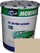 235 Бежевая автоэмаль акриловая Mobihel, 0,75 л. цена без отвердителя