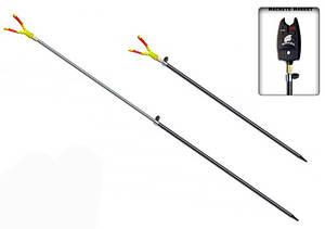 Підставка для вудки телескопічна під сигналізатор (метал)