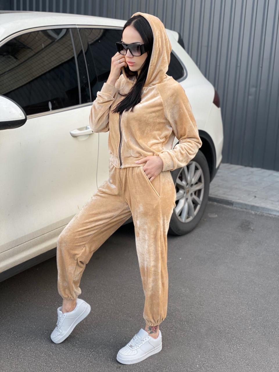 Жіночий велюровий костюм Реасһ