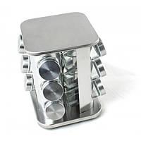 Подставка карусель для специй Spice Carousel, 12 емкостей, стекло, нержавеющая сталь, TT30046