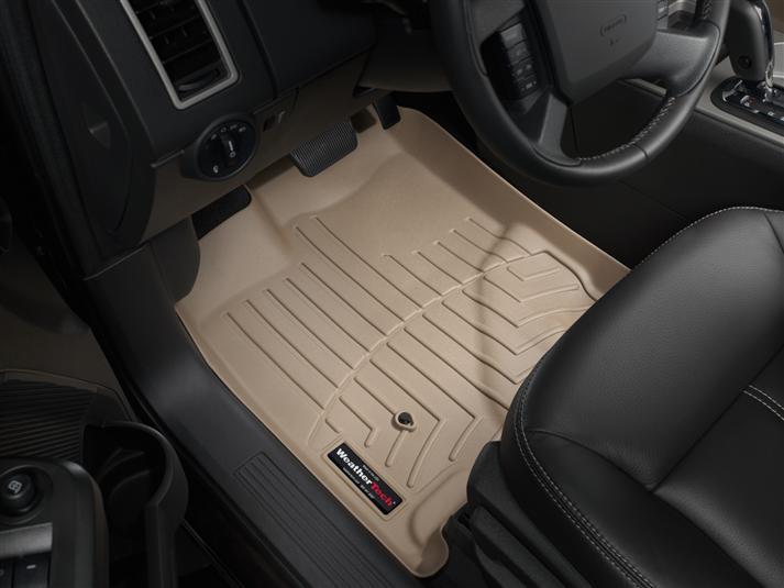 Ковры резиновые WeatherTech Ford Edge 2006-2010 передние бежевые