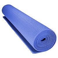 Коврик для йоги и фитнеса Power System  PS-4014 FITNESS-YOGA MAT Blue, фото 1