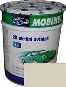 295 Сливочно-Белая автоэмаль акриловая Mobihel, 0,75 л. цена без отвердителя