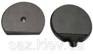 Комплект тормозных колодок ручного тормоза JCB