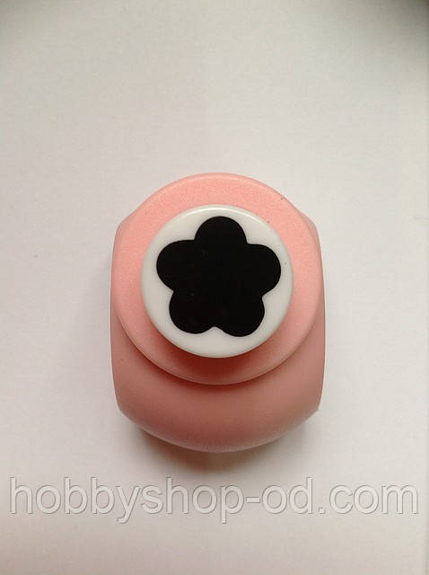 Дирокол фігурний Квітка кнопка 1,8 см