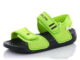 Сандалі дитячі для хлопчика зелений колір розмір 30,31,34 Київ