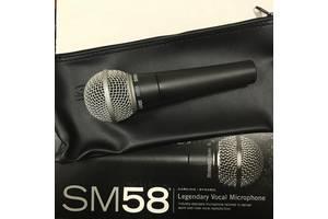 Профессиональный динамический микрофон Shure SM-58