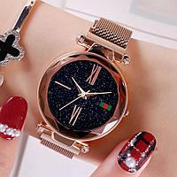 Женские часы Starry Sky Watch с римскими цифрами часы звездного неба c магнитным ремешком