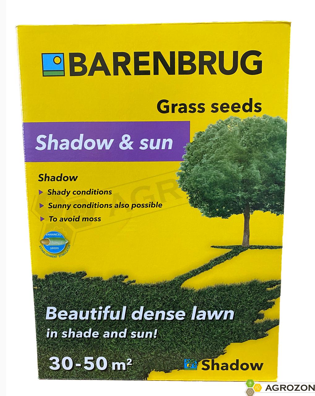 Газонная трава Shadow & Sun Тень и солнце, Barenbrug - 1 кг