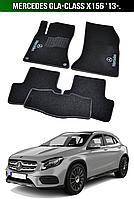 Коврики Mercedes GLA-Class X156 '13-. Текстильные автоковрики Мерседес