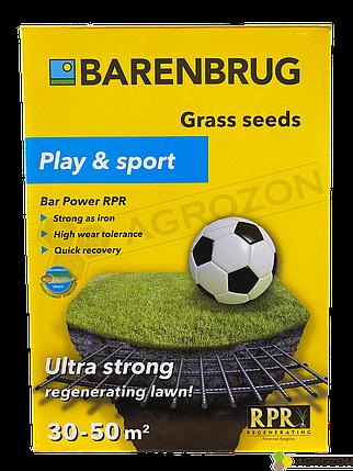 Газонная трава Bar Power RPR Универсальная - спортивная Barenbrug - 1 кг, фото 2
