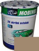 509 Тёмный беж автоэмаль акриловая Mobihel, 0,75 л. цена без отвердителя