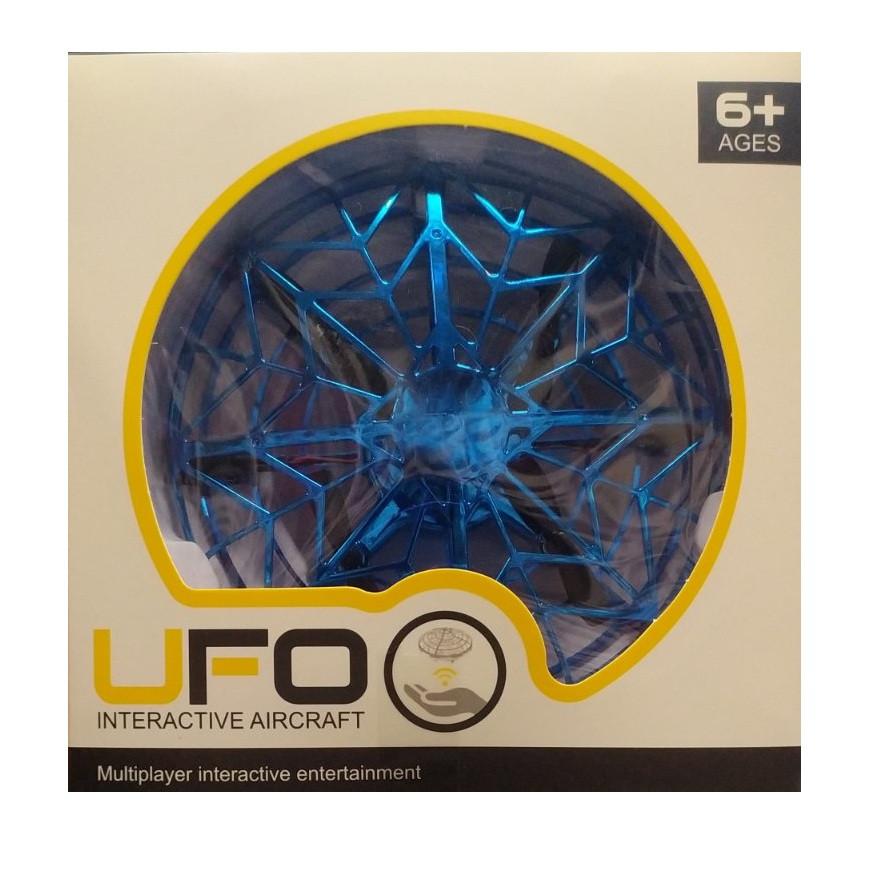 Летающий Квадрокоптер UFO YC8886 Мини-Дрон НЛО управление жестами Новинка
