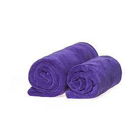 Набор спортивных полотенец фиолетовых 400гр/м2  (45*95 и 35*75)
