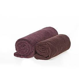 Спортивное полотенце микрофибра, набор коричневых 300гр/м2 (45*95 и 35*75)