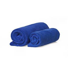 Набор спортивных полотенец синих 300гр/м2  (45*95 и 35*75)