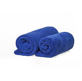 Набор спортивных полотенец синих 400гр/м2  (45*95 и 35*75)