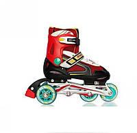 Роликовые коньки Amigo Sport Libby 32-35 красные
