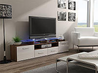 ТВ тумба EVORA 194 слива/белый (CAMA)