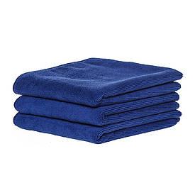 Спортивное полотенце микрофибра, набор 45*95см, 300гр/м2 ( 3 шт. синий)
