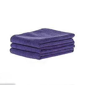 Спортивное полотенце микрофибра, набор 45*95см, 300гр/м2 ( 3 шт. фиолетовый)