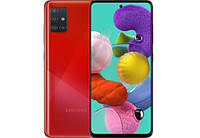 Смартфон Samsung A515F Galaxy A51 4/64 Duos (red), фото 1