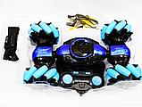 Машинка перевертыш STUNT HL-C019S на радиоуправлении, управление с руки, вращение 360°, фото 4