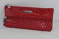 Ключница кожаная красная Karya 052-122