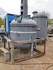 Реактор нержавейка на 3,2 куба.