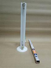 Опромінювач бактерицидний настільний ОБН 1х15 в комплекті з лампою безозоновой Osram 15Вт