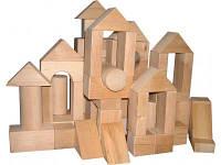 Конструктор «Городок деревянный №3» ВП-003\3 тм Винни Пух