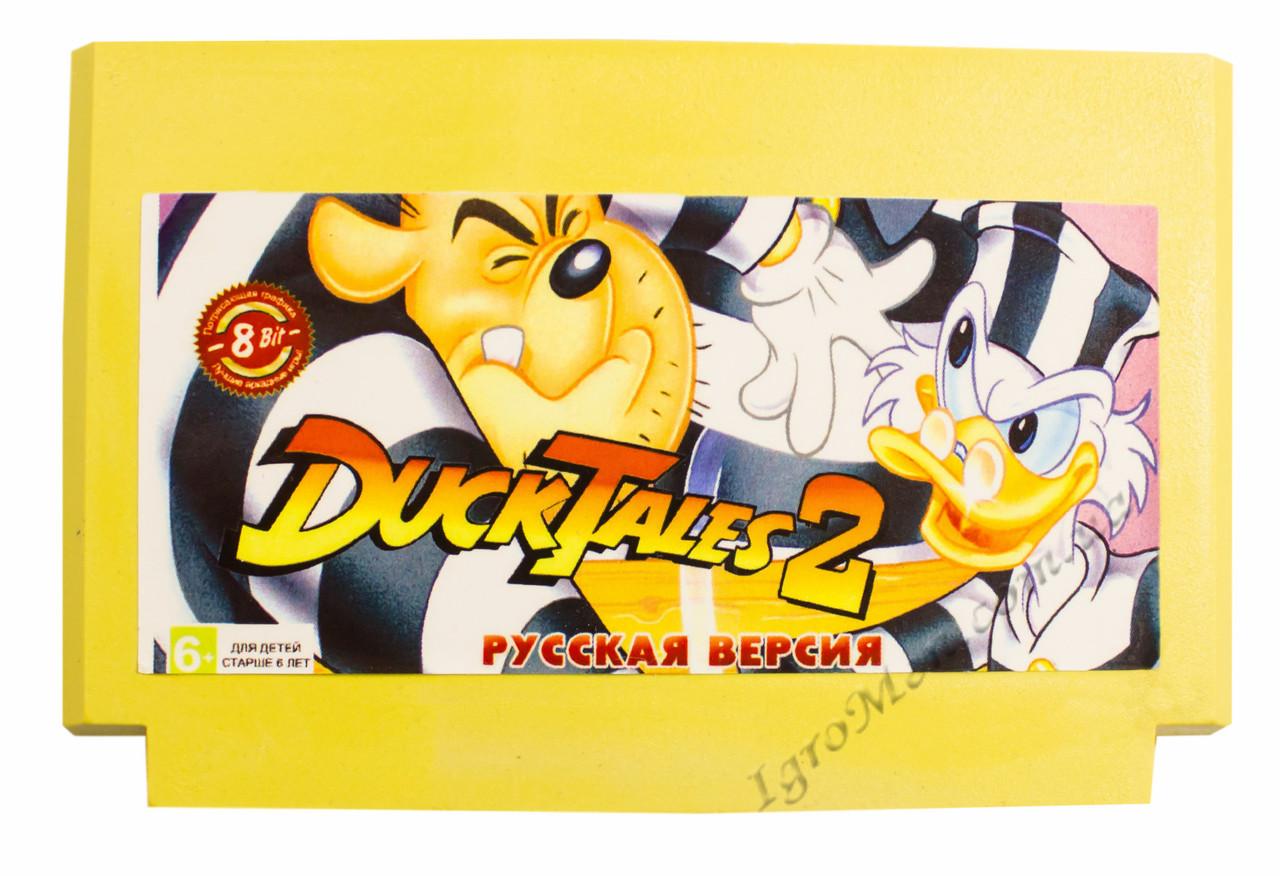 Картридж денди Duck Tales 2 (Утиные Истории 2)
