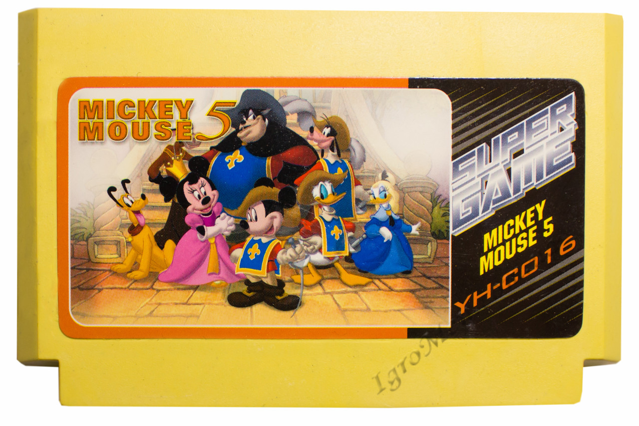 Картридж денди Mickey Mouse 5