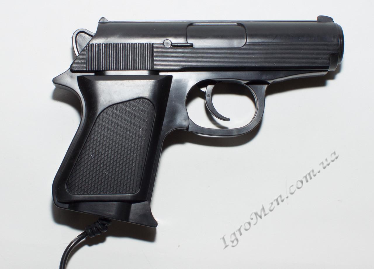 Пистолет для Денди (9 pin, черный)