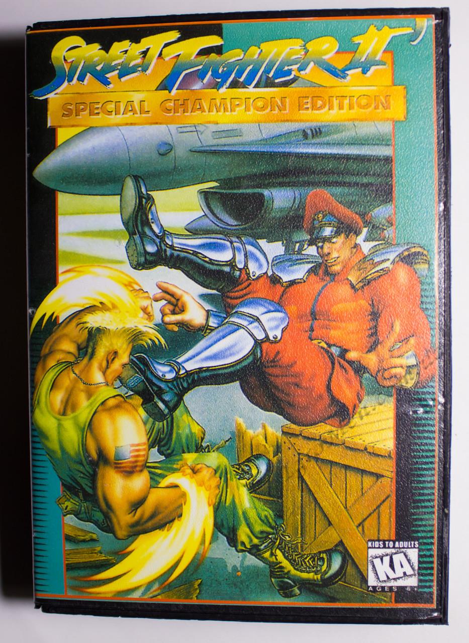 Картридж cега Street Fighter 2 (БОКС, в коробке)