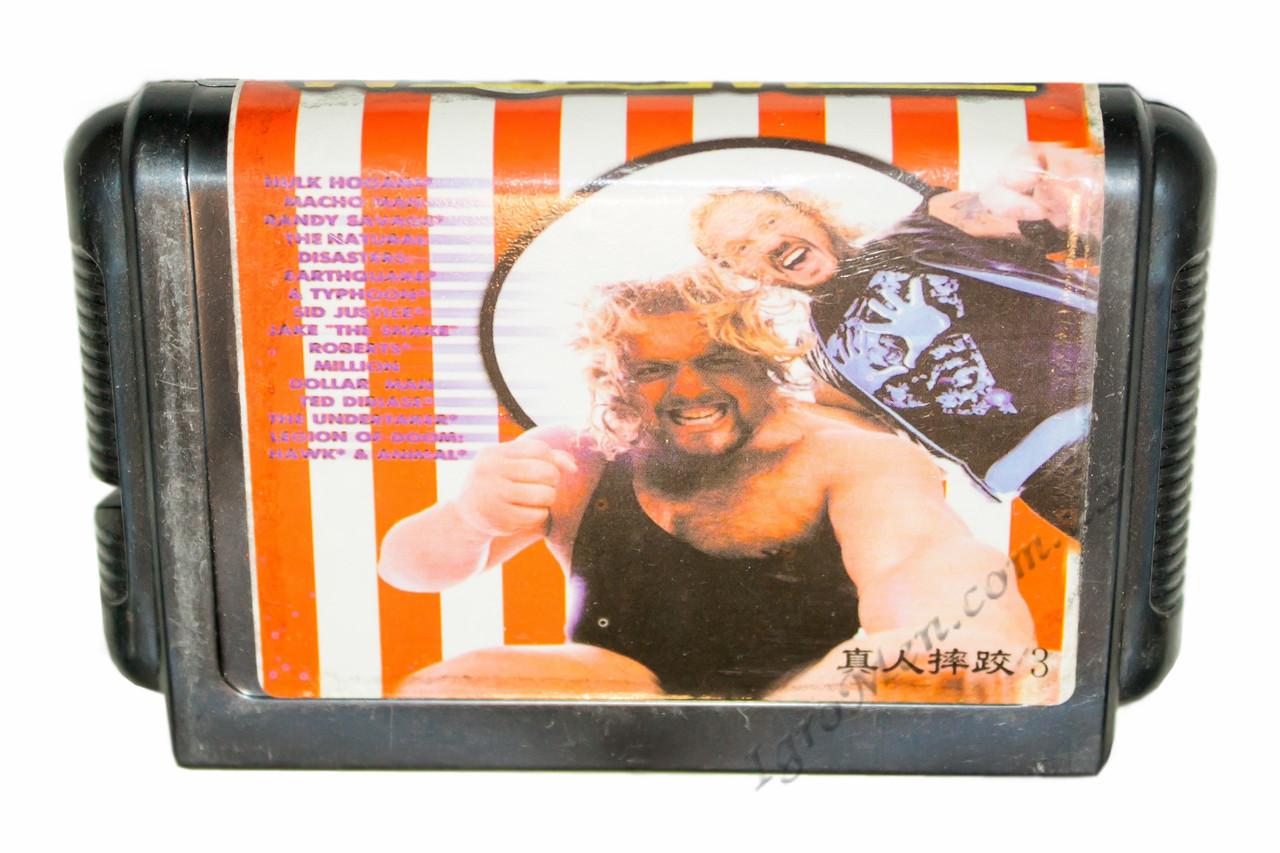 Картридж cега WrestleMania