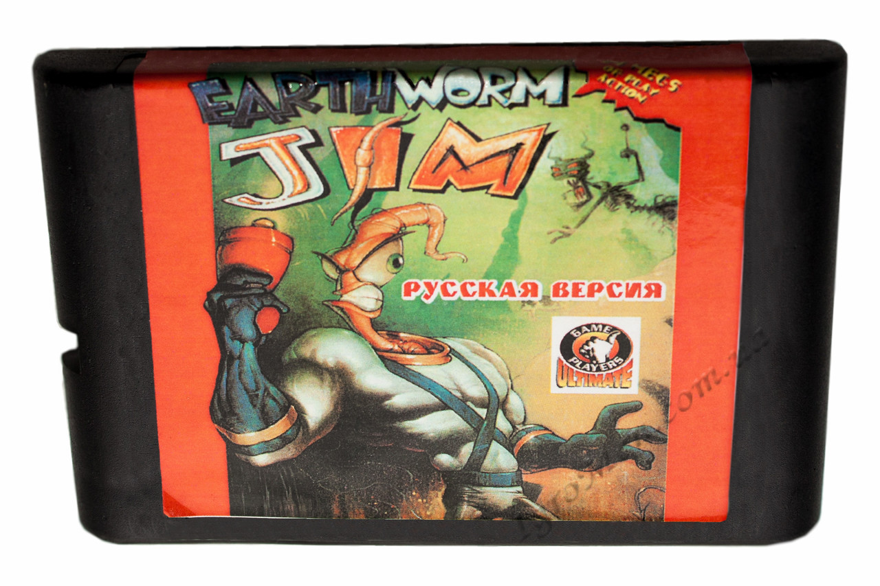 Картридж cега Earthworm Jim 2