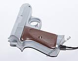 Пистолет для Денди (9 pin, серебро), фото 5
