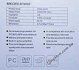 ЮСБ колонки для компьютера, ноутбука (Е-116, красный), фото 3