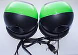 ЮСБ колонки для компьютера, ноутбука (Е-116, зеленый), фото 2