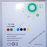 ЮСБ колонки для компьютера, ноутбука (Е-116, зеленый), фото 6