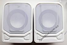 ЮСБ колонки для компьютера, ноутбука (К12, белый, металл)