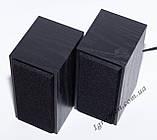 ЮСБ колонки для компьютера, ноутбука (FT101, черн), фото 3