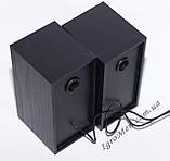 ЮСБ колонки для компьютера, ноутбука (FT101, черн), фото 5